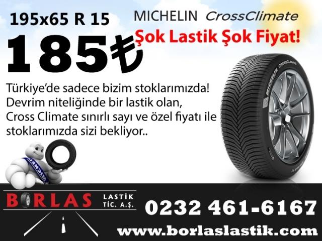 Michelin Cross Climate İlk Kış Lastiği Özelliği Taşıyan Yaz Lastiği 185TL (KAMPANYA BİTMİŞTİR)